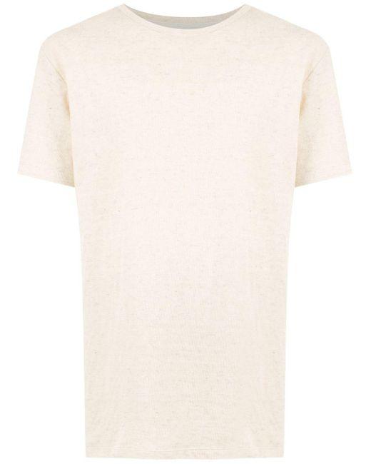 メンズ Osklen クルーネック Tシャツ White