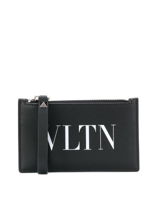 メンズ Valentino Garavani Vltn カードケース Black