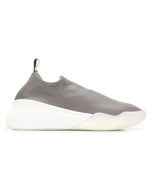 ac27cc0d5e2f Stella McCartney Loop Sneakers in Gray - Save 62% - Lyst