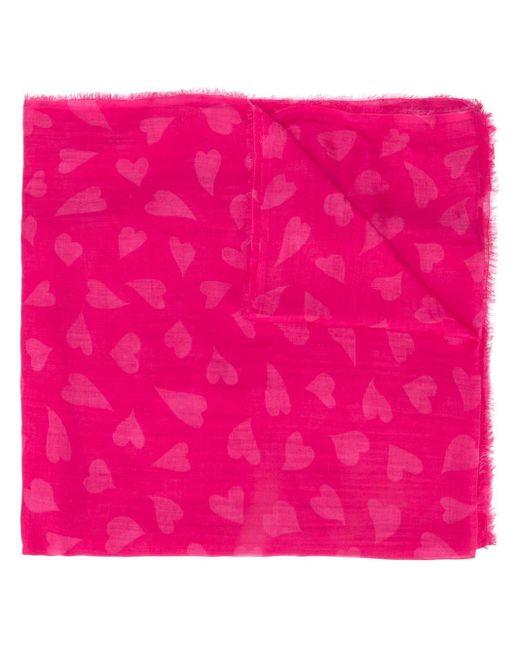 Faliero Sarti ハート スカーフ Pink