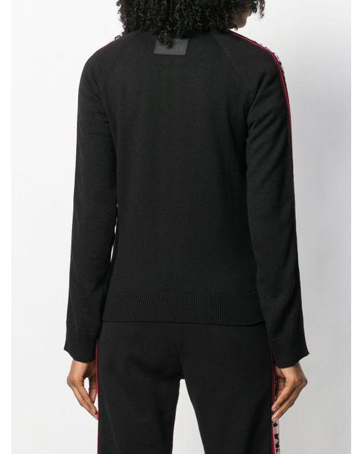 DSquared² ロゴ トラックジャケット Black