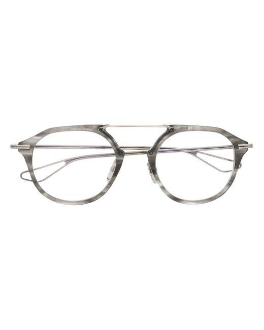 メンズ Dita Eyewear マーブルパターン 眼鏡フレーム Gray