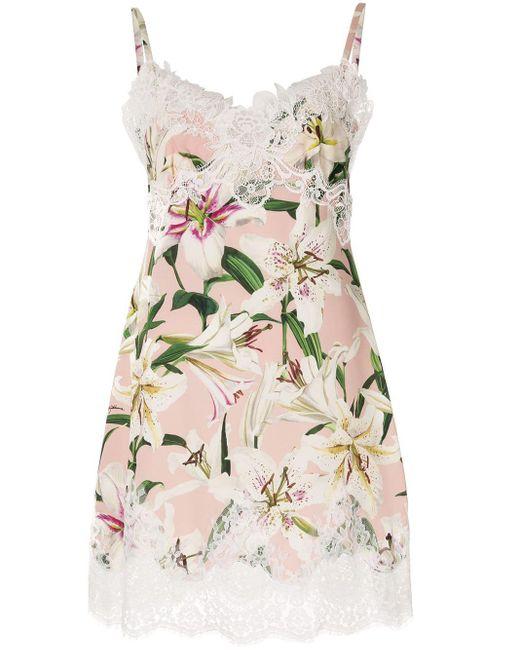 Dolce & Gabbana Lily スリップドレス Multicolor