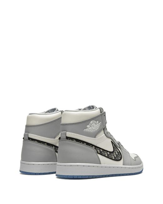 Nike X Dior 'Air 1 High' Sneakers in White für Herren