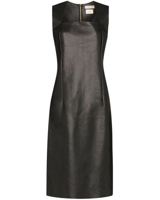 Bottega Veneta レザー ドレス Black