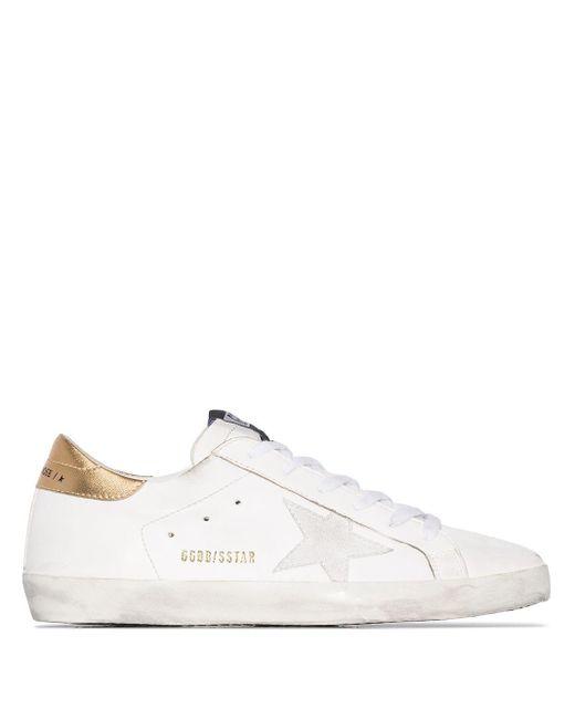 Golden Goose Deluxe Brand White Superstar Low-top Sneakers