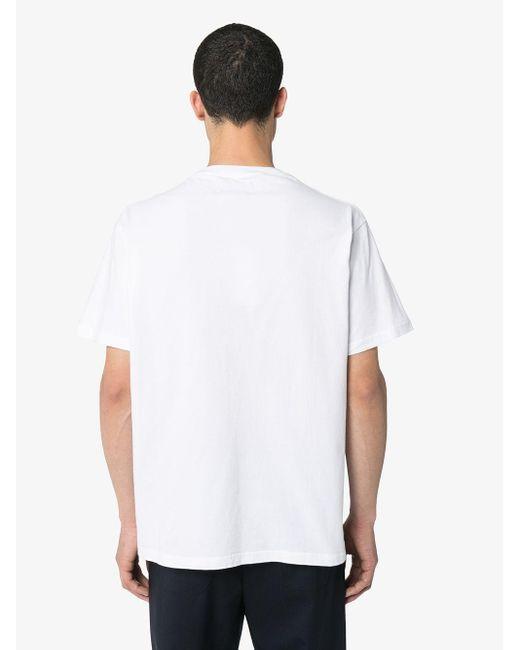 メンズ 424 ロゴ Tシャツ White
