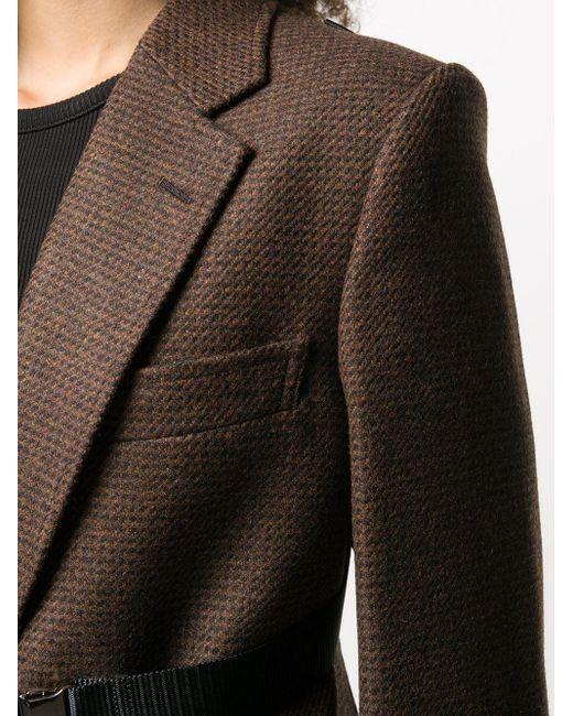 Junya Watanabe オーバーサイズ テーラードジャケット Brown