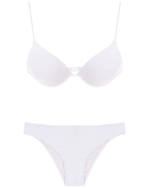 Set bikini di Amir Slama in White