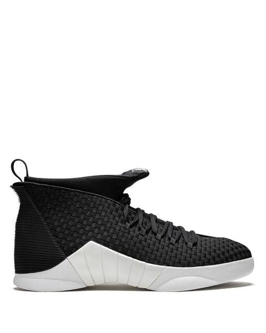 メンズ Nike Air 15 Retro ハイカットスニーカー Black