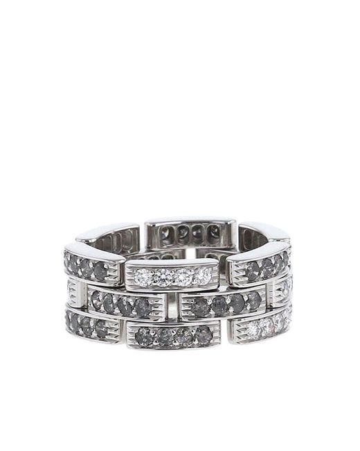 Cartier 2000s プレオウンド Maillon Panthère ダイヤモンド リング 18kホワイトゴールド White