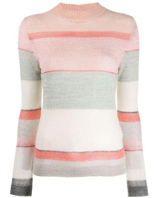Missoni ストライプ セーター Pink