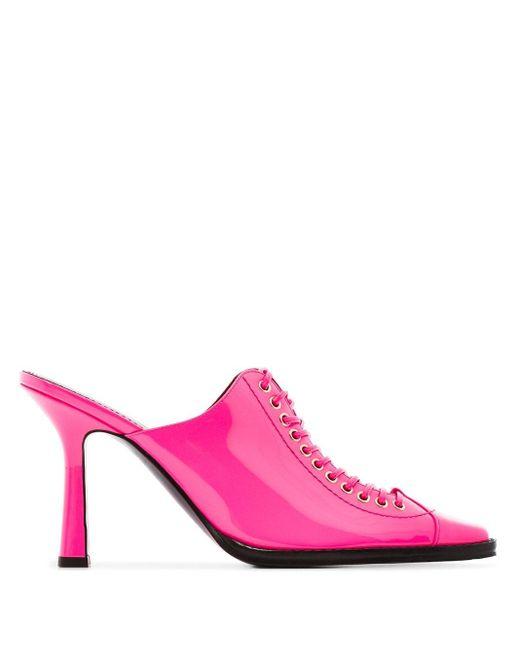 Sies Marjan Stella 90 ミュール Pink