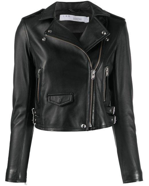 IRO ライダースジャケット Black