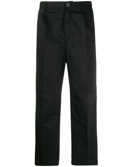 メンズ Givenchy クロップド チノパンツ Black