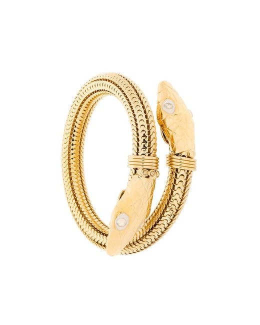 Gas Bijoux | Metallic Cobra Bracelet | Lyst