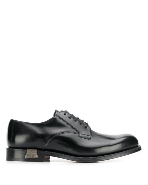 Классические Туфли На Шнуровке Church's для него, цвет: Black