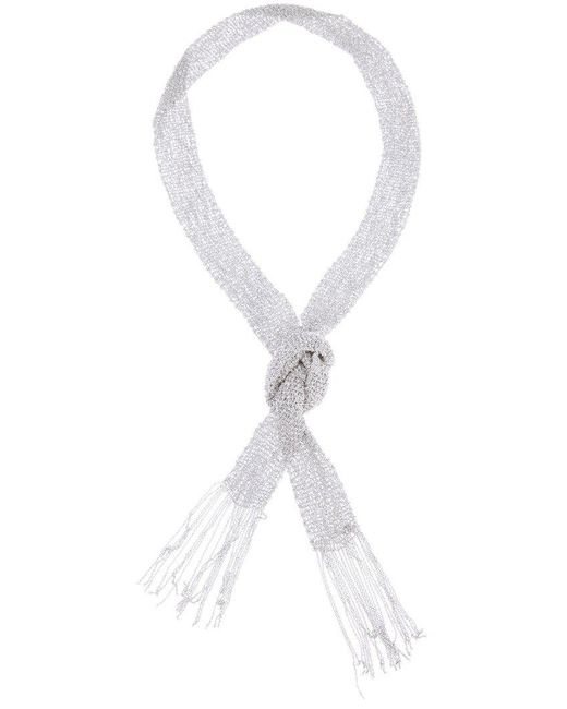 Christian Koban | Metallic Woven Necklace | Lyst