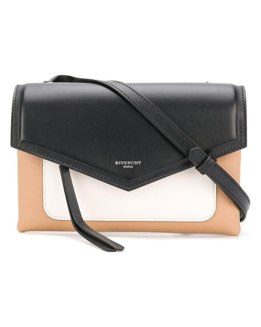 e2124cb18ed1 Lyst - Givenchy Duetto Crossbody Bag in Black