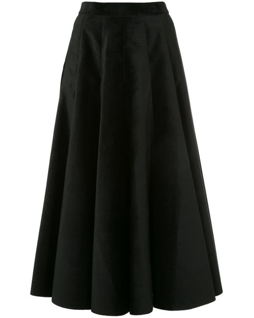 Sara Battaglia サーキュラースカート Black