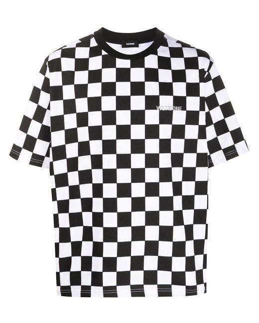 we11done ラウンドネック Tシャツ Black