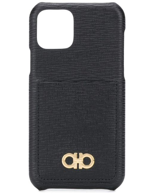 メンズ Ferragamo ガンチーニ Iphone 11 ケース Black