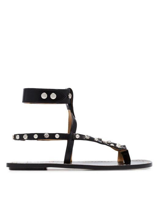 Sandalias con apliques Isabel Marant de color Black