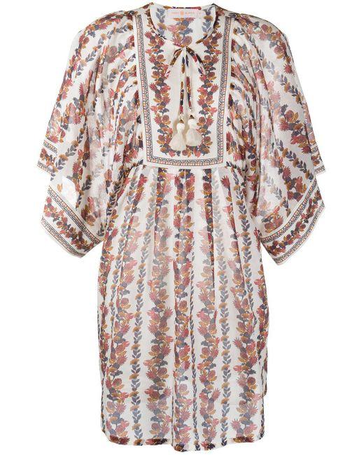 Tory Burch フローラル チュニックドレス Multicolor