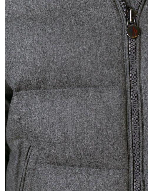 Стеганый Пуховик 'montgenevre' Moncler для него, цвет: Gray