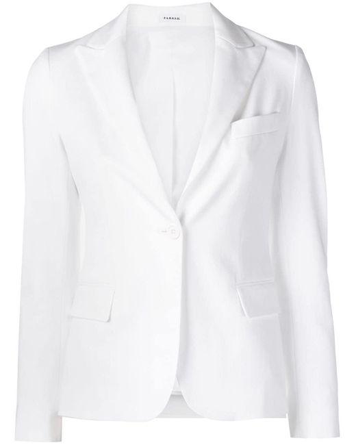 P.A.R.O.S.H. テーラードジャケット White