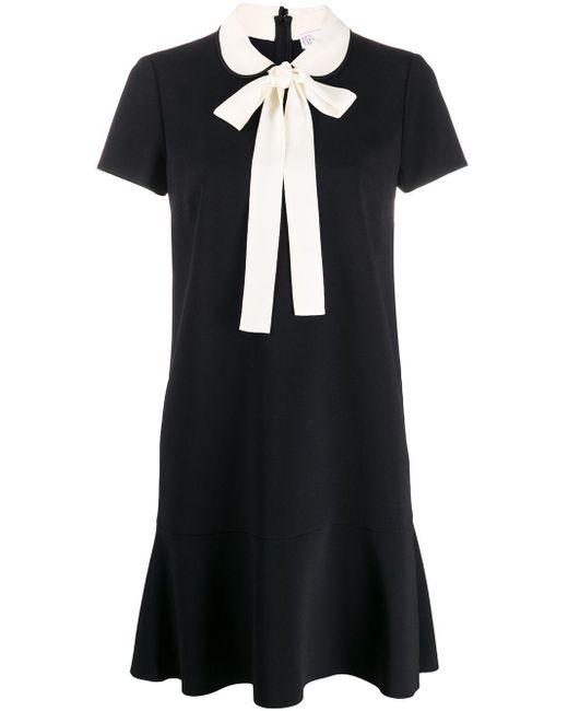 RED Valentino リボン ドレス Black