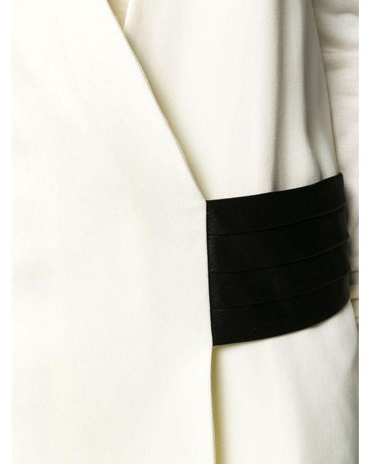 Victoria Beckham Tux ジレ White