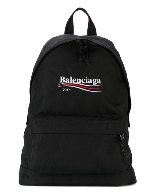 Рюкзак 'explorer' Balenciaga для него, цвет: Black
