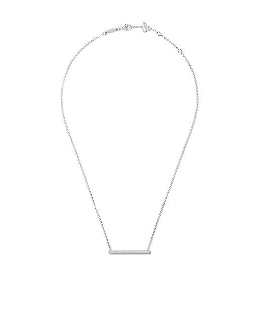 Chopard アイスキューブ ネックレス 18kローズゴールド Metallic