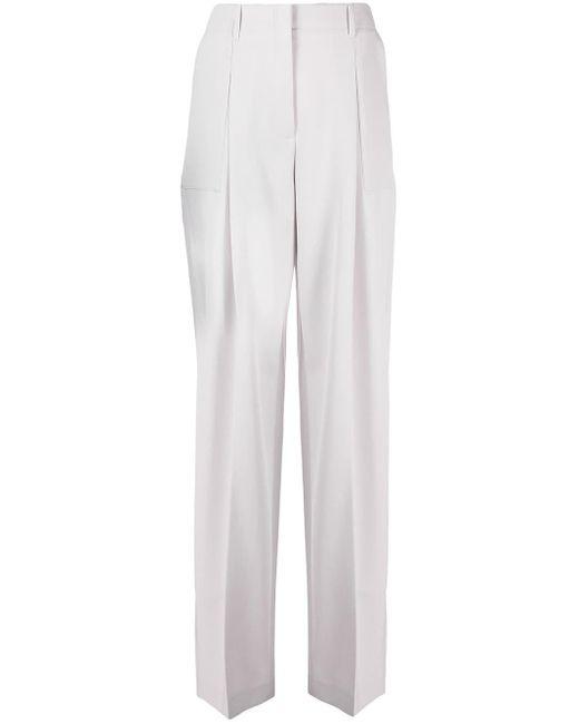 Pantalon ample à taille haute Stella McCartney en coloris Gray