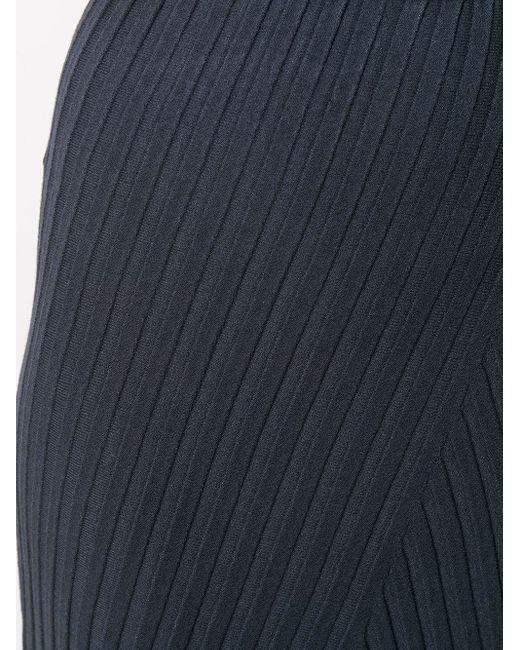 Юбка Fay В Рубчик Filippa K, цвет: Blue