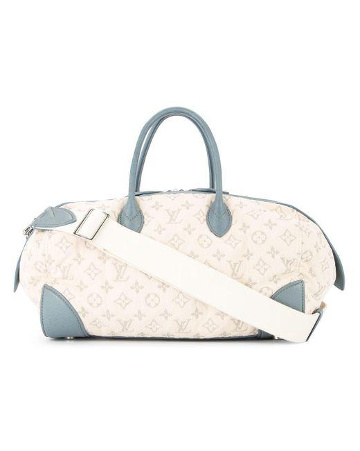 Сумка-тоут 'speedy' Pre-owned Louis Vuitton, цвет: White