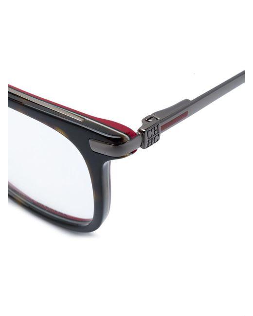 CH by Carolina Herrera Black Brille mit quadratischen Gläsern