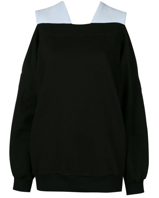 Ioana Ciolacu Black Oversized Knit Jumper