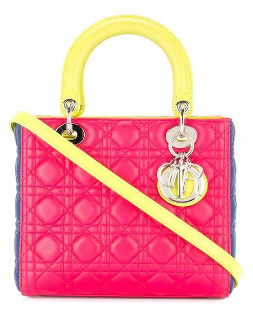 Dior Lady Dior ハンドバッグ Pink