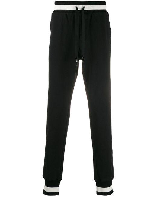 メンズ Dolce & Gabbana Heritage トラックパンツ Black