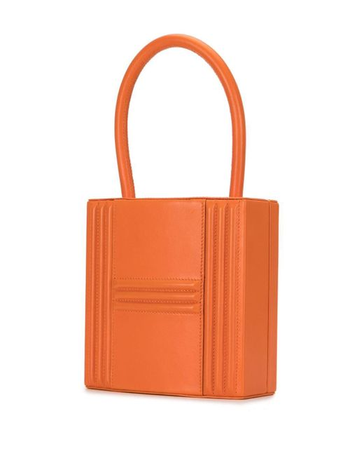 Hermès 1993 プレオウンド カデナ ハンドバッグ Orange