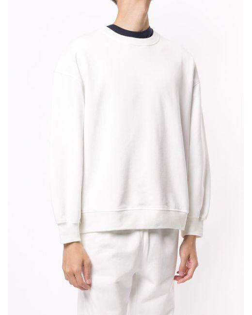 Sir. The Label クルーネック スウェットシャツ White