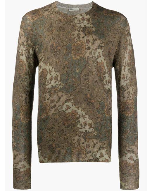 メンズ Etro パターン セーター Multicolor