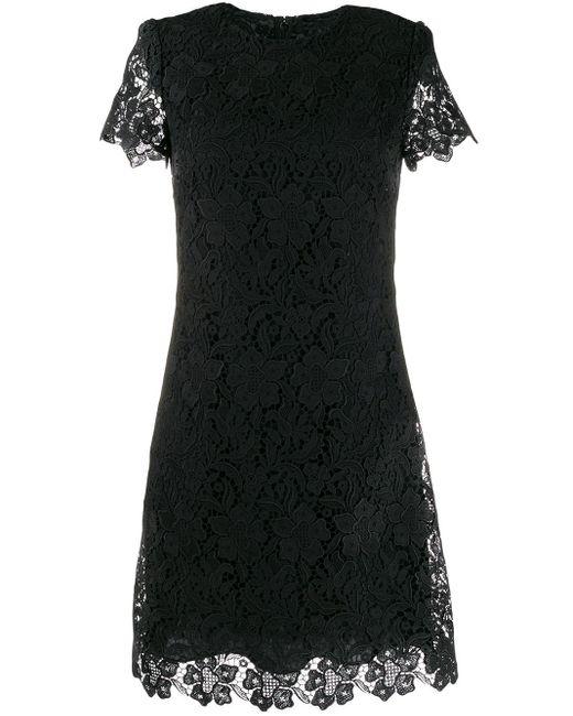 Givenchy フローラル ミニドレス Black