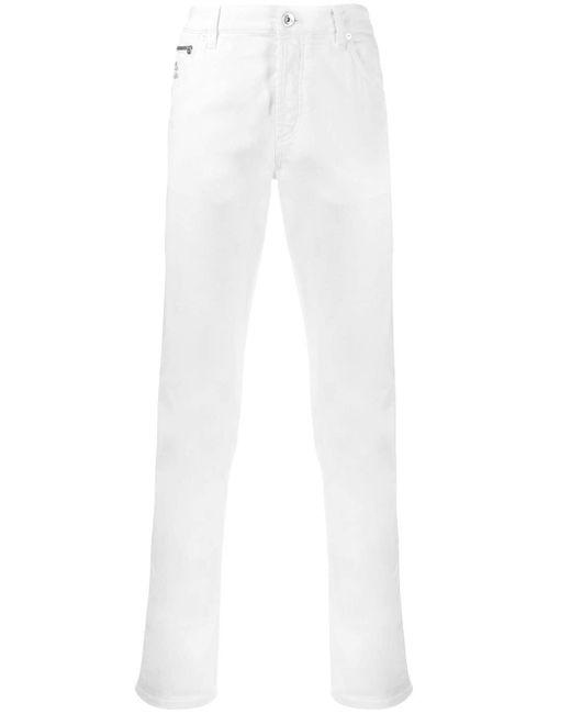 メンズ Brunello Cucinelli スリムジーンズ White