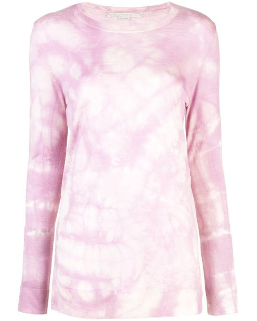 Stella McCartney タイダイ セーター Pink