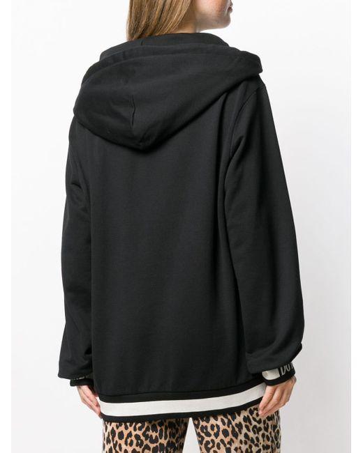 Dolce & Gabbana レオパード パーカー Black