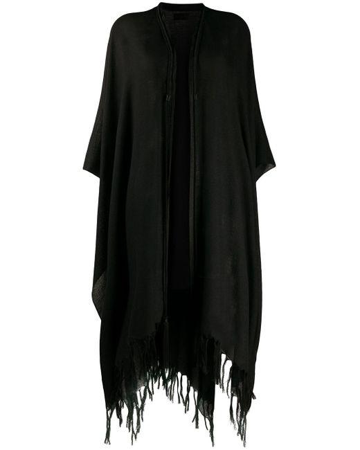 Пончо Berbere Saint Laurent, цвет: Black