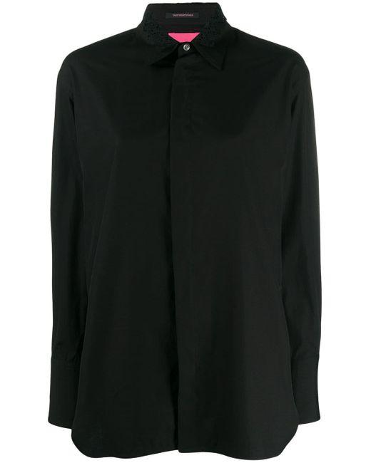 Y's Yohji Yamamoto チェック ボタンシャツ Black